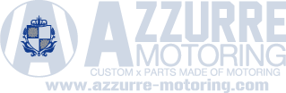 AZZURRE MOTORING CUSTOM x PARTS MADE OF MOTORING www.azzurre-motoring.com